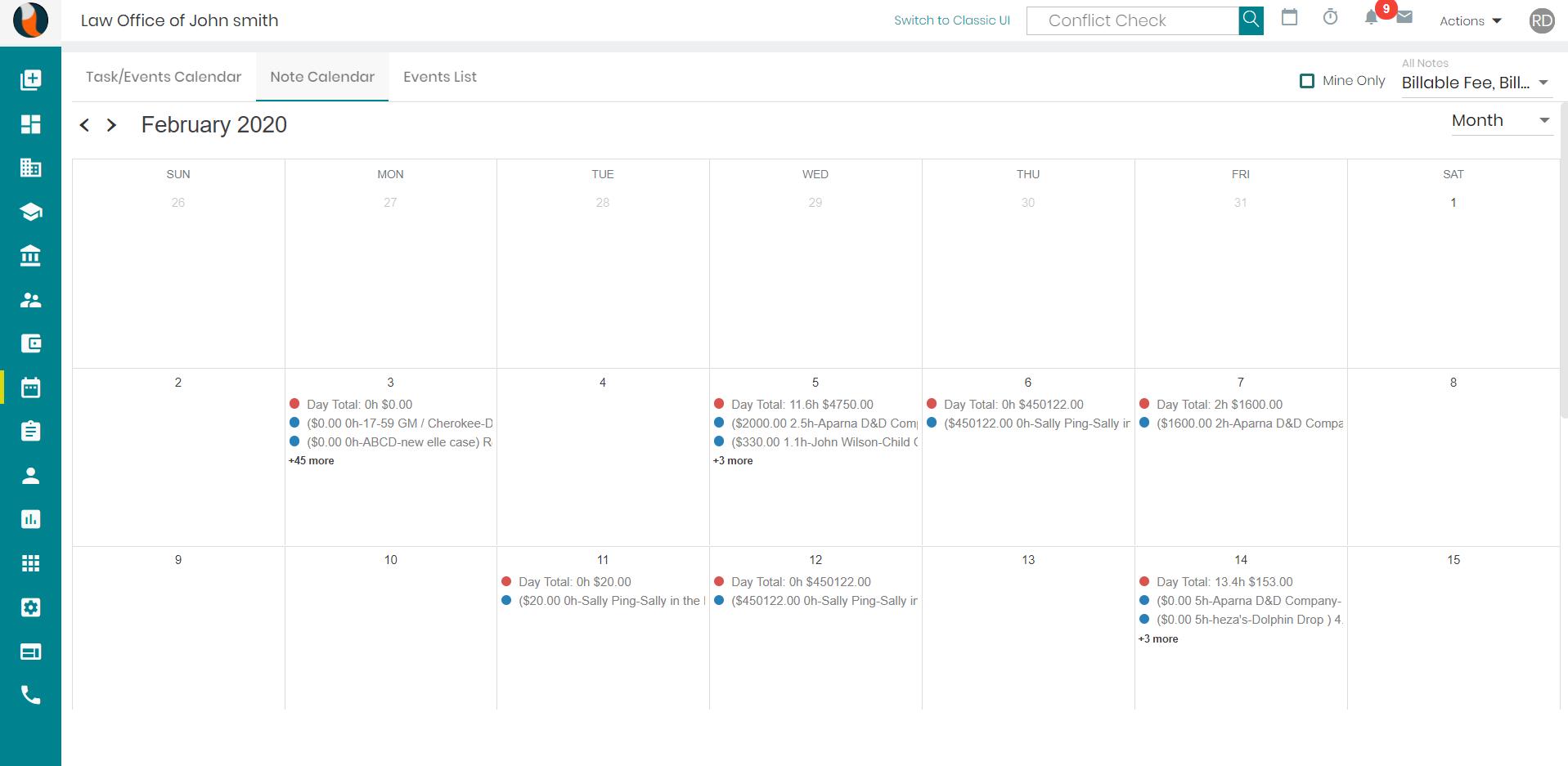 Calendaring