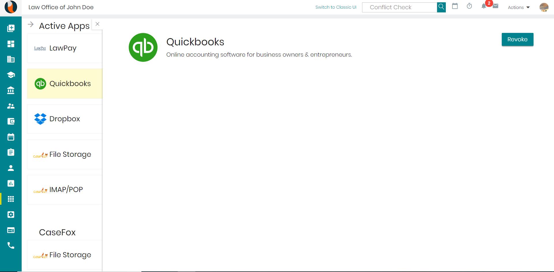 Qouickbook-Integration