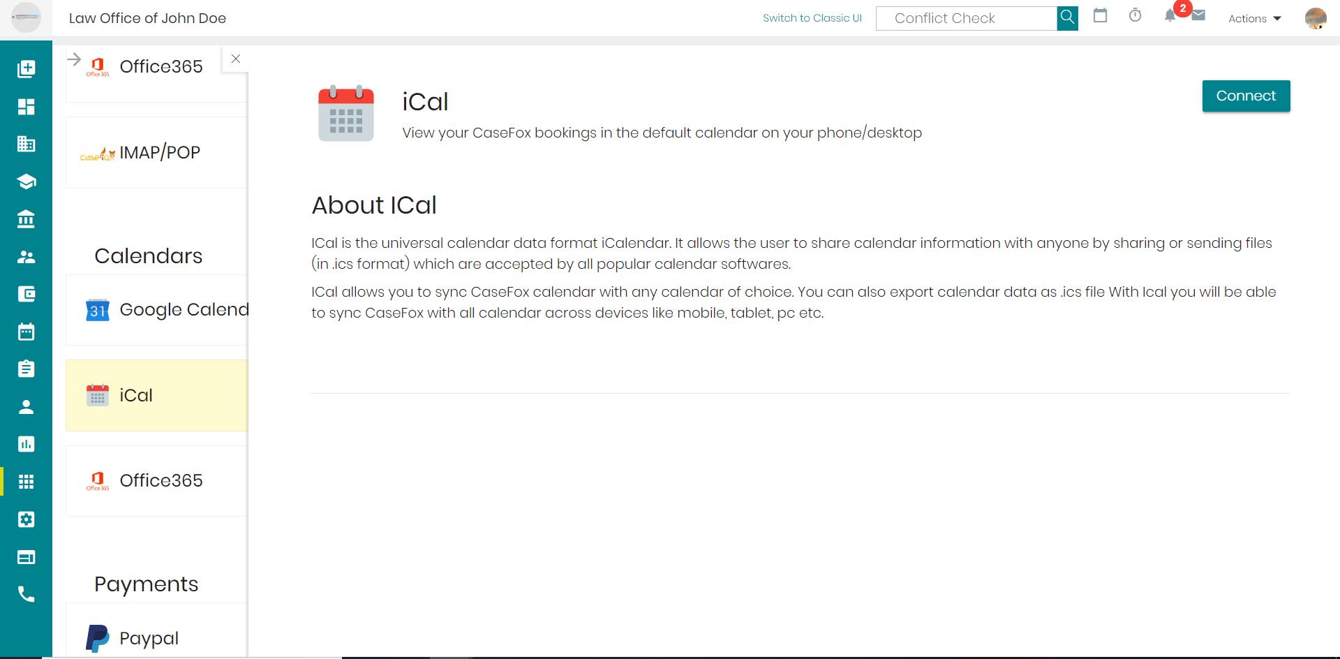 iCol-integration